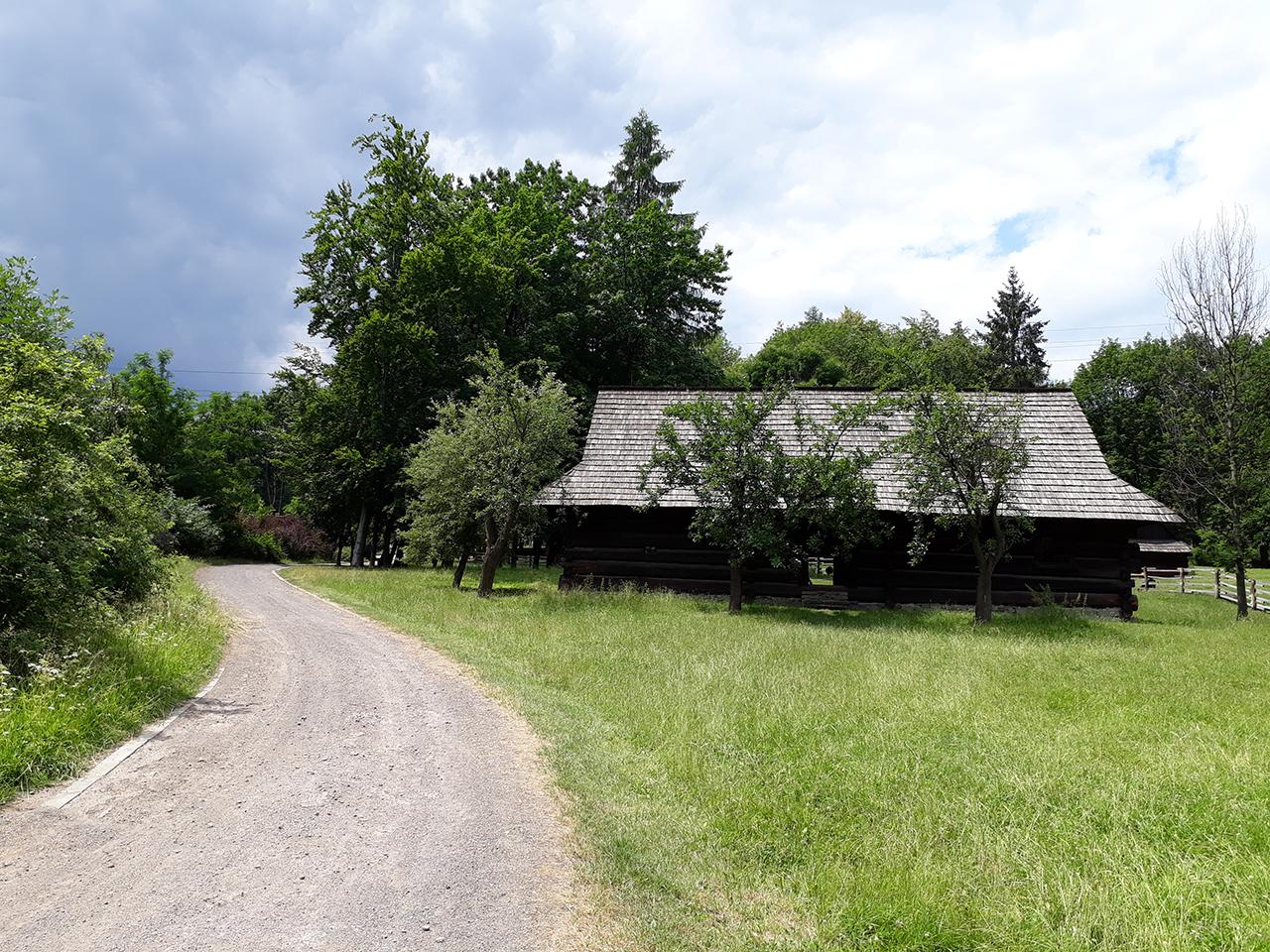 Krajobraz - skansen w Chorzowie