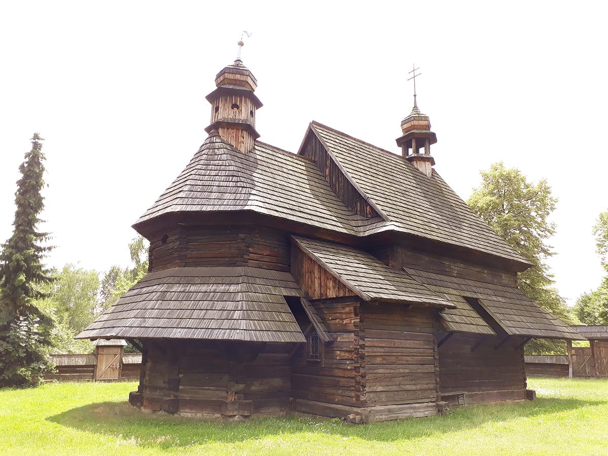 Kościół w muzeum w Chorzowie