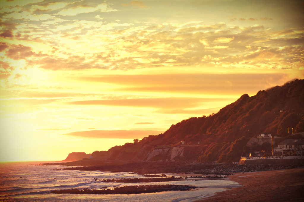 Ventnor Isle of Wight beach